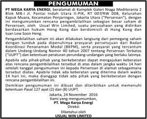 Contoh Iklan Radar Bandung
